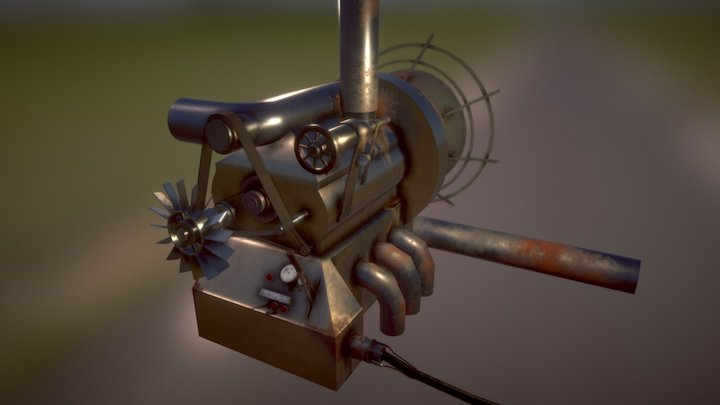 ARC ship engine 3D Model