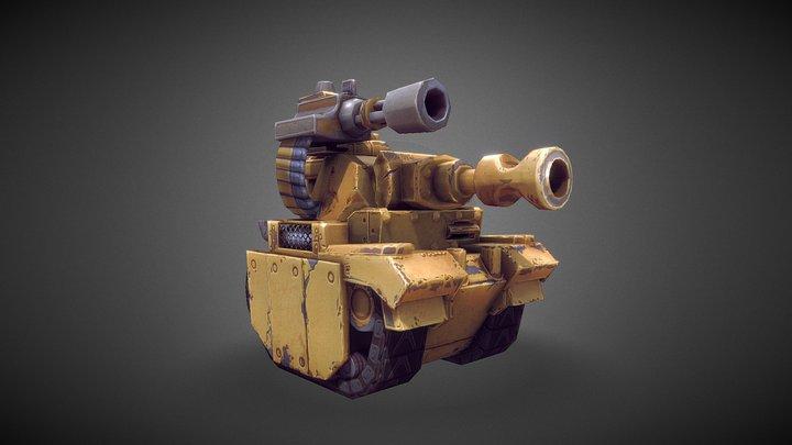 Leoger Medium Tank 3D Model