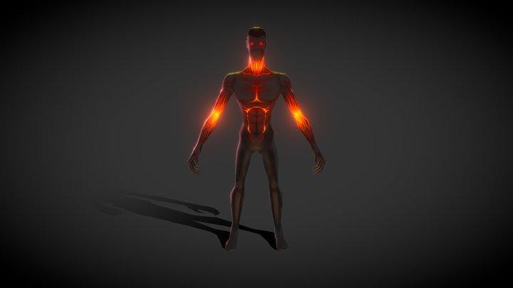 Cursed Man 01 3D Model