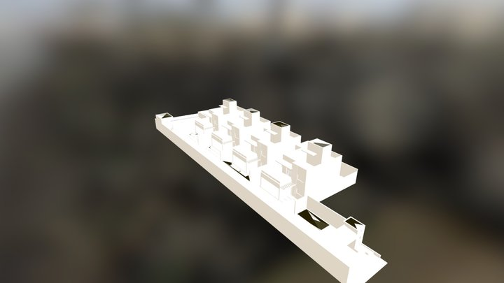Solarium Residence.obj 3D Model