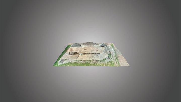 opgraving Deinze - Lange Akkerstraat 3D Model