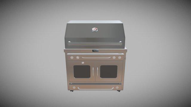 44 Burner Drawer 3D Model