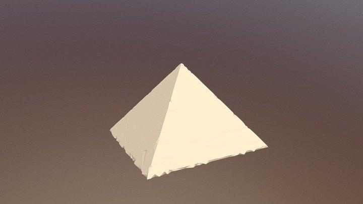 Low Poly Khafre 3D Model