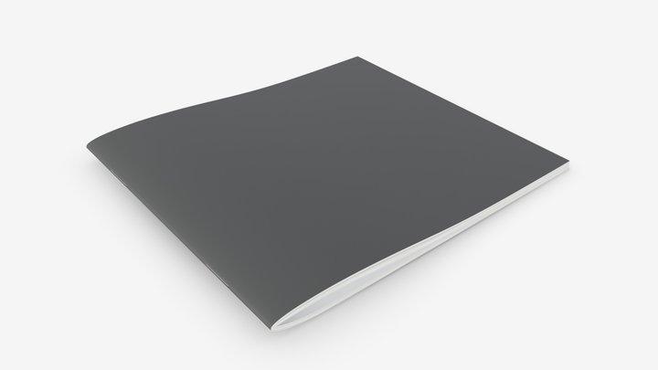 Brochure book 01 3D Model