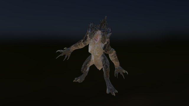 FO4 Deathclaw 3D Print 3D Model