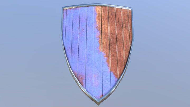Wooden Heater Shield 3D Model