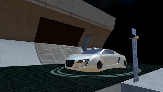 I Robot, diorama 3D Model