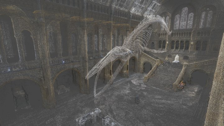 Hintze Hall, NHM London [point cloud] 3D Model