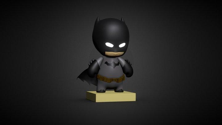 Chibi Batman 3D Model