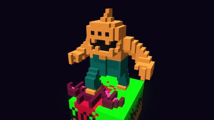 Halloween Forever 3D Model