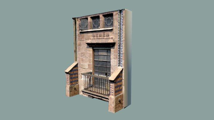 Balcón principal - Hotel Posada del Sol - CDMX 3D Model