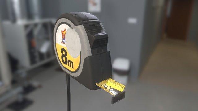 GAP03 Tape measure 3D Model