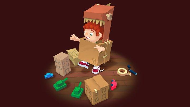 Imagination: 3December day 9 3D Model
