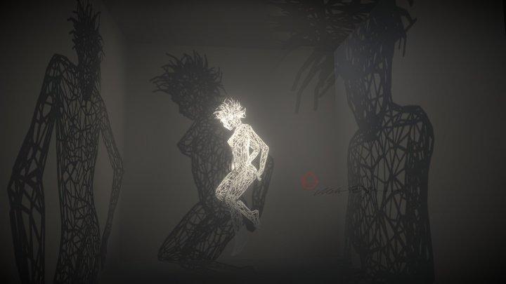Dancing Woman 3D Model