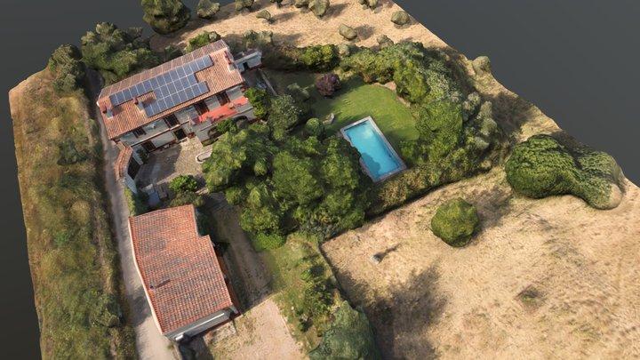 Casa rural El Recuerdo 3D Model