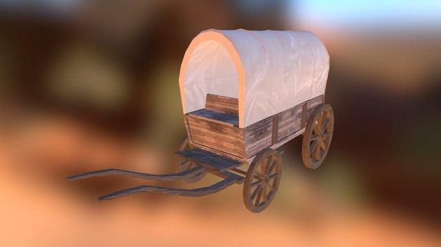 Wagon 3D Model