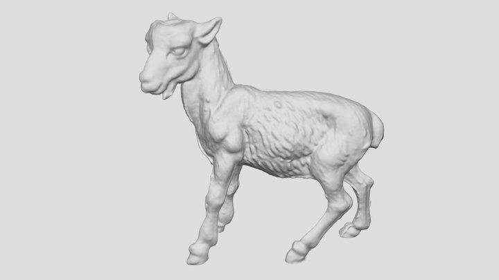 Goat 3D Scanned toy 3D Model