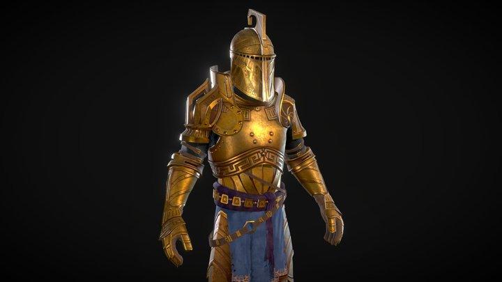 Dwemer Armor set 3D Model