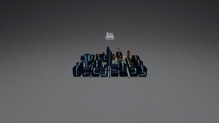 Cybernet City [WIP] 3D Model