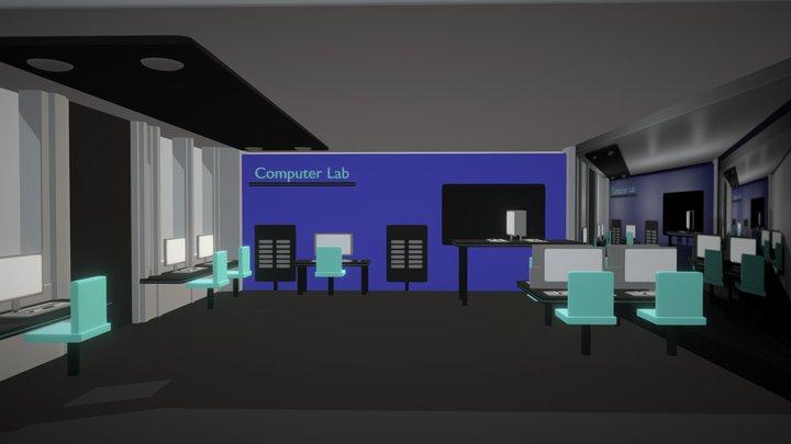 Blue Computer Laboratory 3D Model
