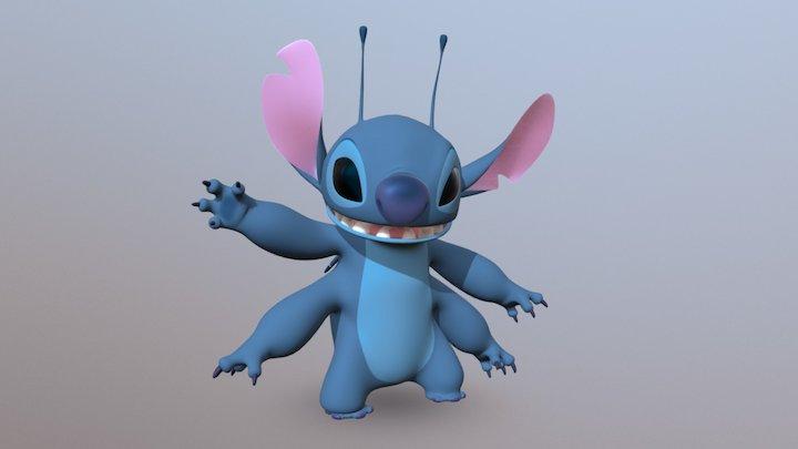 Stitch 3D Model