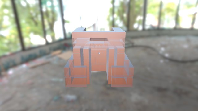 Takkatulipesa 3D Model