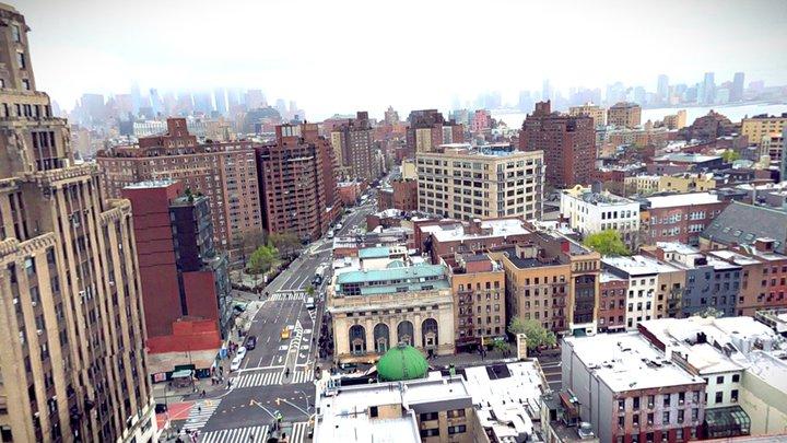 Google NYC - Office Views (360) 3D Model