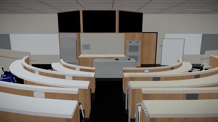 THCA - Lecture Hall 3D Model