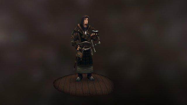 Holy Knight 3D Model