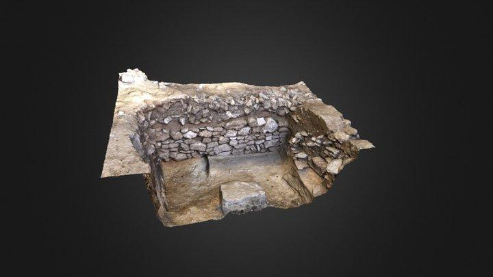 Etude stratigraphique 3D Model