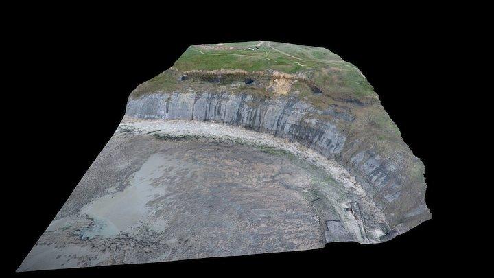 Les Falaises au sud de Wimereux (62) 3D Model