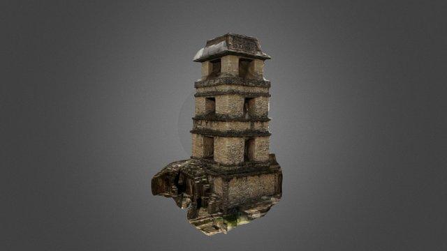 Observatorio Maya/Mayan Observatory 3D Model