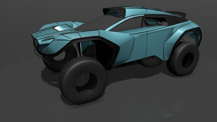 Another Dakar Soobie Sketch 3D Model
