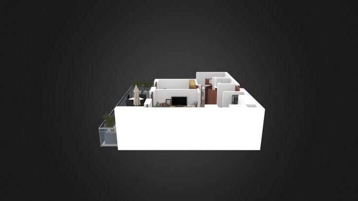 Test Floorplan 3D Model