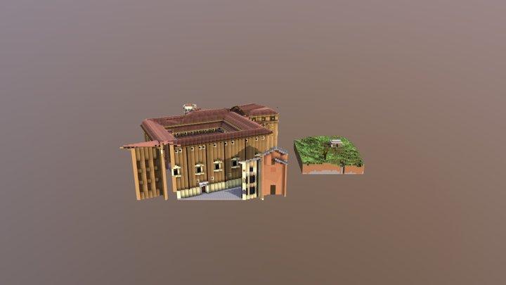 Menzione speciale - Raffaello in Minecraft - MED 3D Model