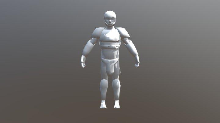 Armor Test 1 3D Model