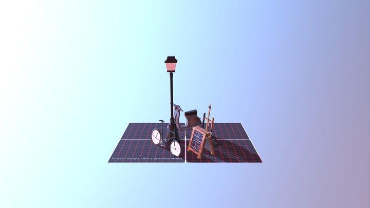 All 5 Props 3D Model