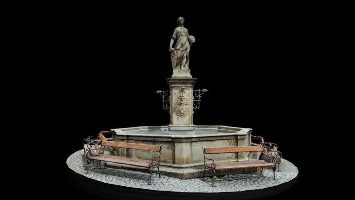 COL - Workshop #2 - MIKULOV - Kašna 3D Model