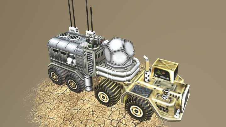 Recycler USA-Tier 2 3D Model