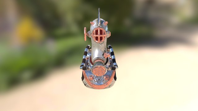 Space Explorer Low 3D Model