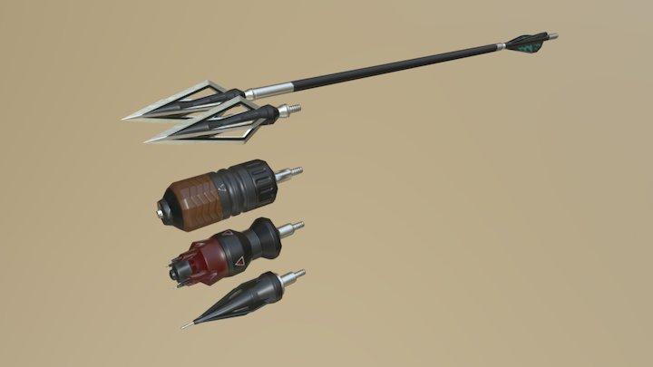 Arrows 3D Model