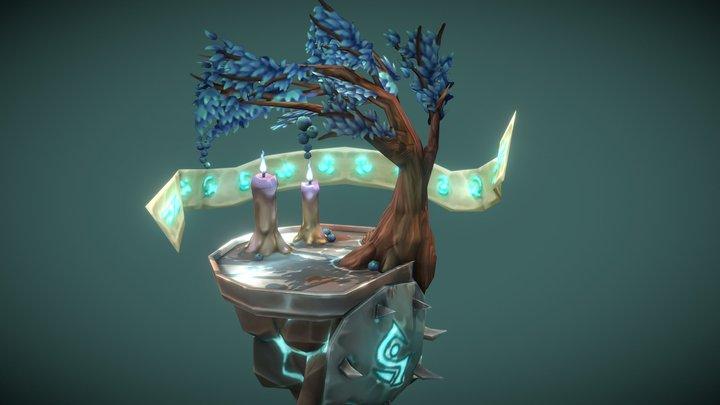 Eternal Altar 3D Model