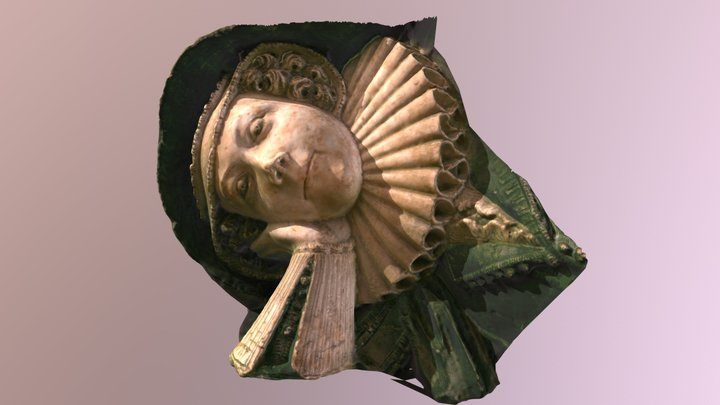 3D effigy from Gloucester cathedral 3D Model