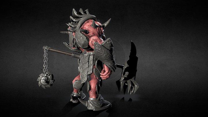 Argh Moured 3D Model