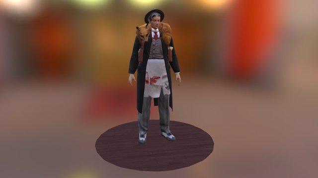 Sweeney Todd 3D Model