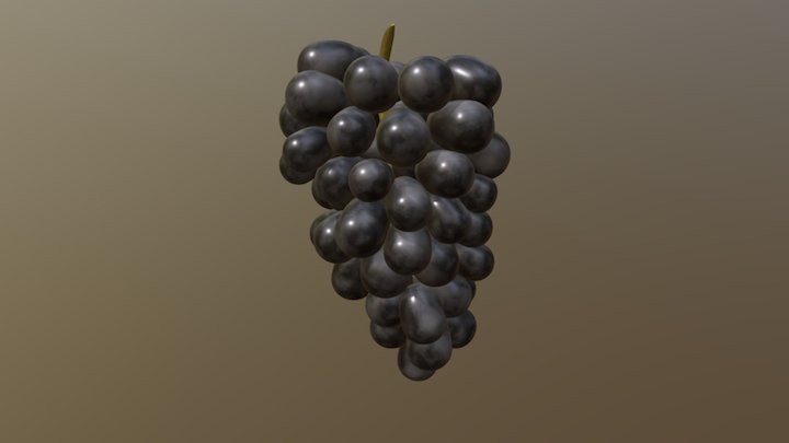 Grape (Downloadable) 3D Model