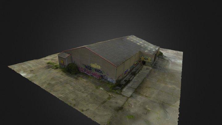 N G V Hangar 3 D1 3D Model