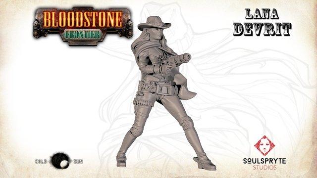 Bloodstone Frontier Lana DeVrit 3D Model