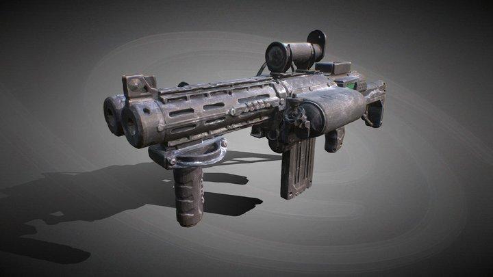 Ripple Effect shotgun 3D Model