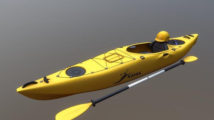 Kayak 3D Model